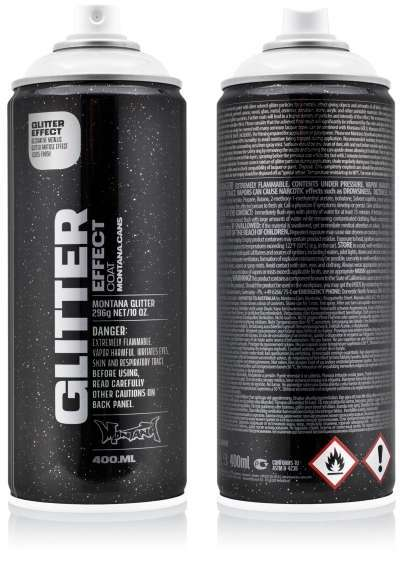 Glitzer Spray